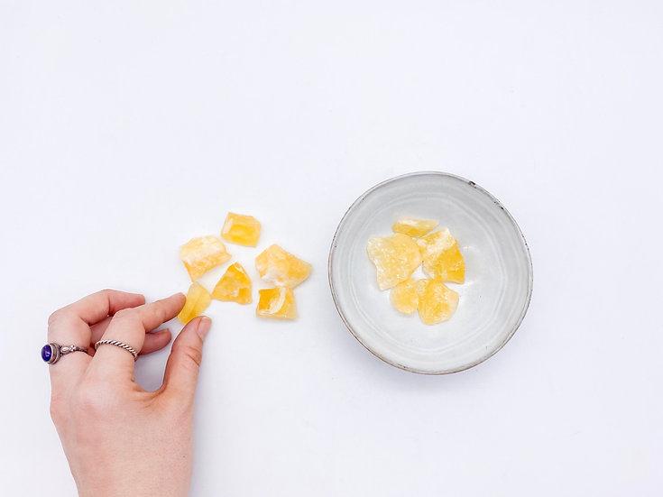 Calcite amarela mini