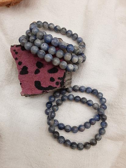 Pulseira de Cianite azul
