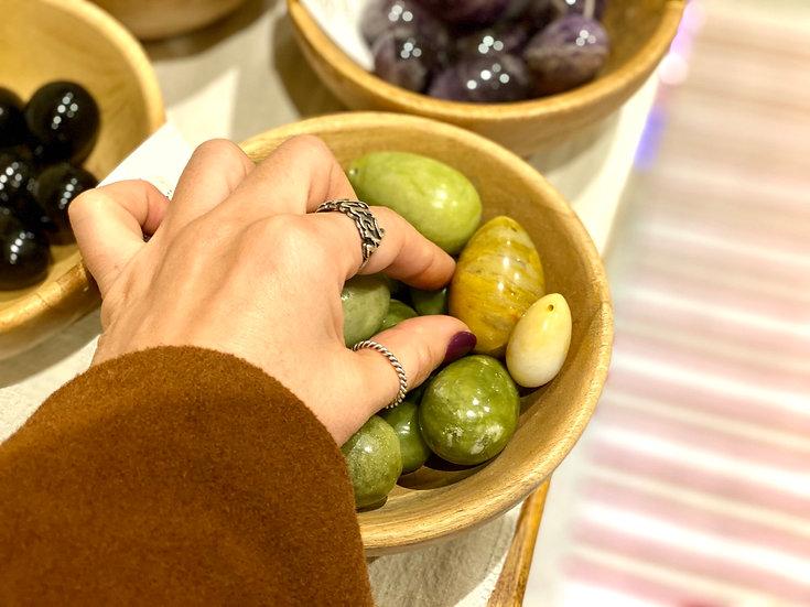 Yoni eggs de Jade amarelo