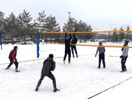 Завершился чемпионат Республики Башкортостан по волейболу на снегу