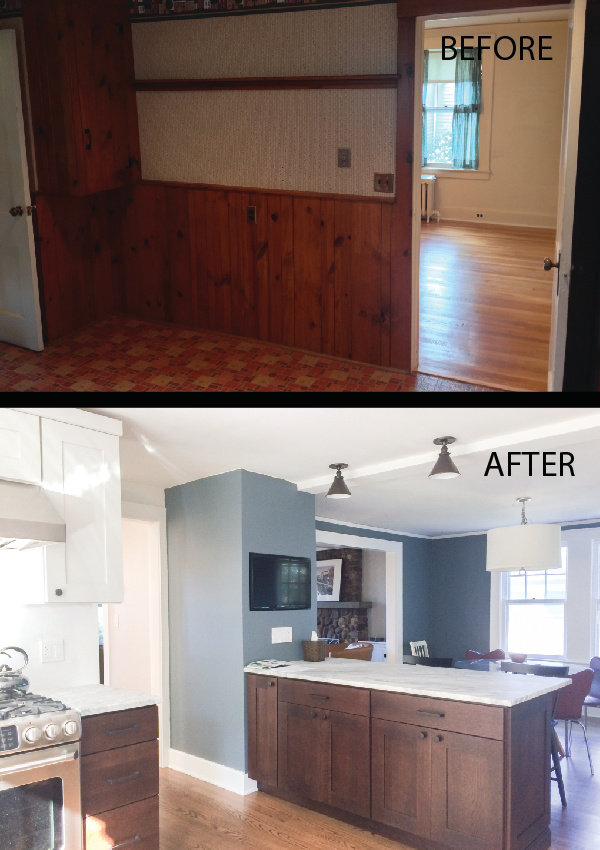 Kitchen Renovation Wall Removal