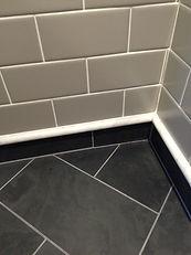 Custom Tile Slate Stone Marble Subway Tile Baseboard Grout