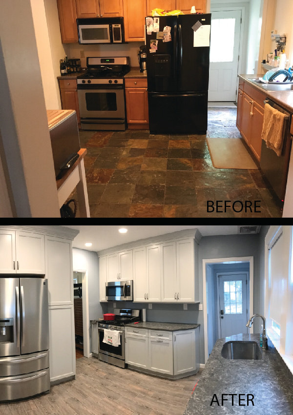 Kitchen Renovation Gray
