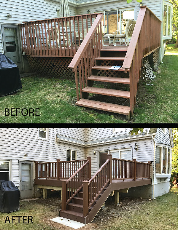 Trex Deck Replacement