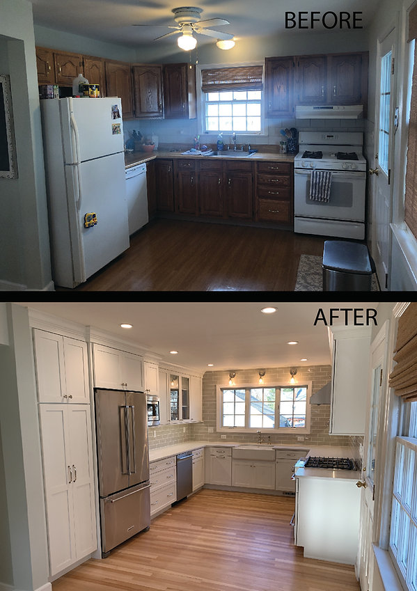 Kitchen Renovation with Addition
