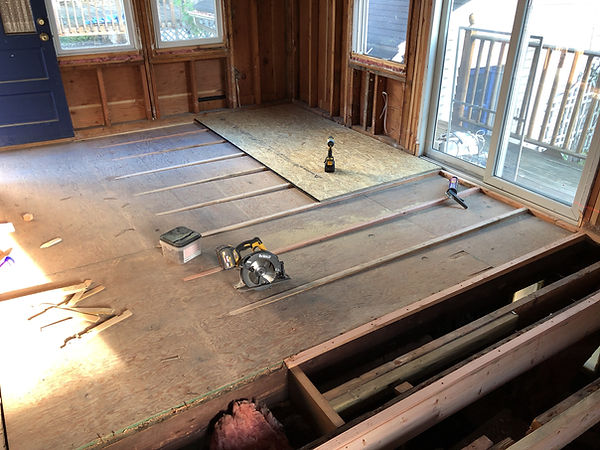 Floor Leveling in old house
