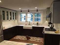 Kitchen Renovations Remodeling Custom Backsplash Hardwood Flooring Undercabinet Lighting