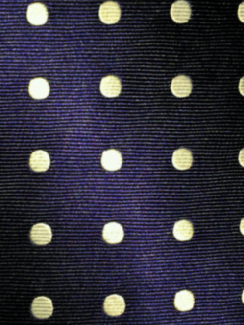 Franchini & Co. Men's 100% Silk Woven Polka Dot Pocket Square
