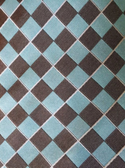 Franchini & Co. Men's 100% Silk Diamond Pattern Pocket Square