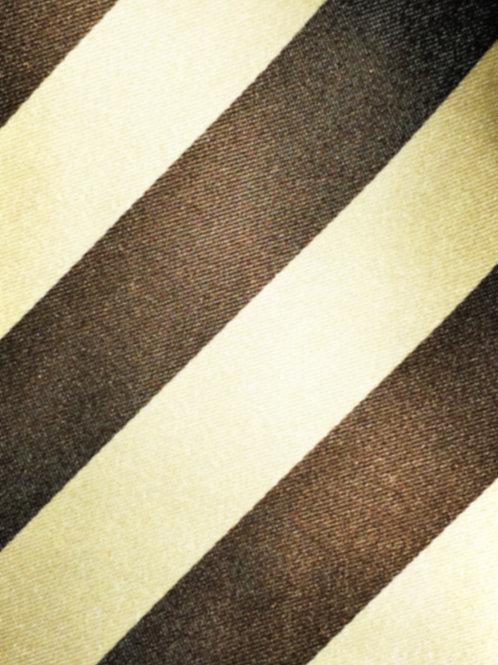 Franchini & Co. Men's 100% Silk Wide Striped Pocket Square