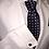 Thumbnail: Franchini & Co. Men's 100% Silk Polka Dot Tie