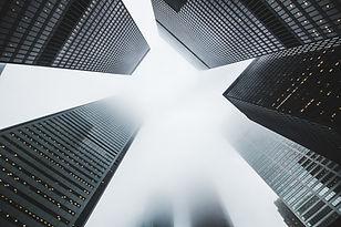 Hohe Gebäude