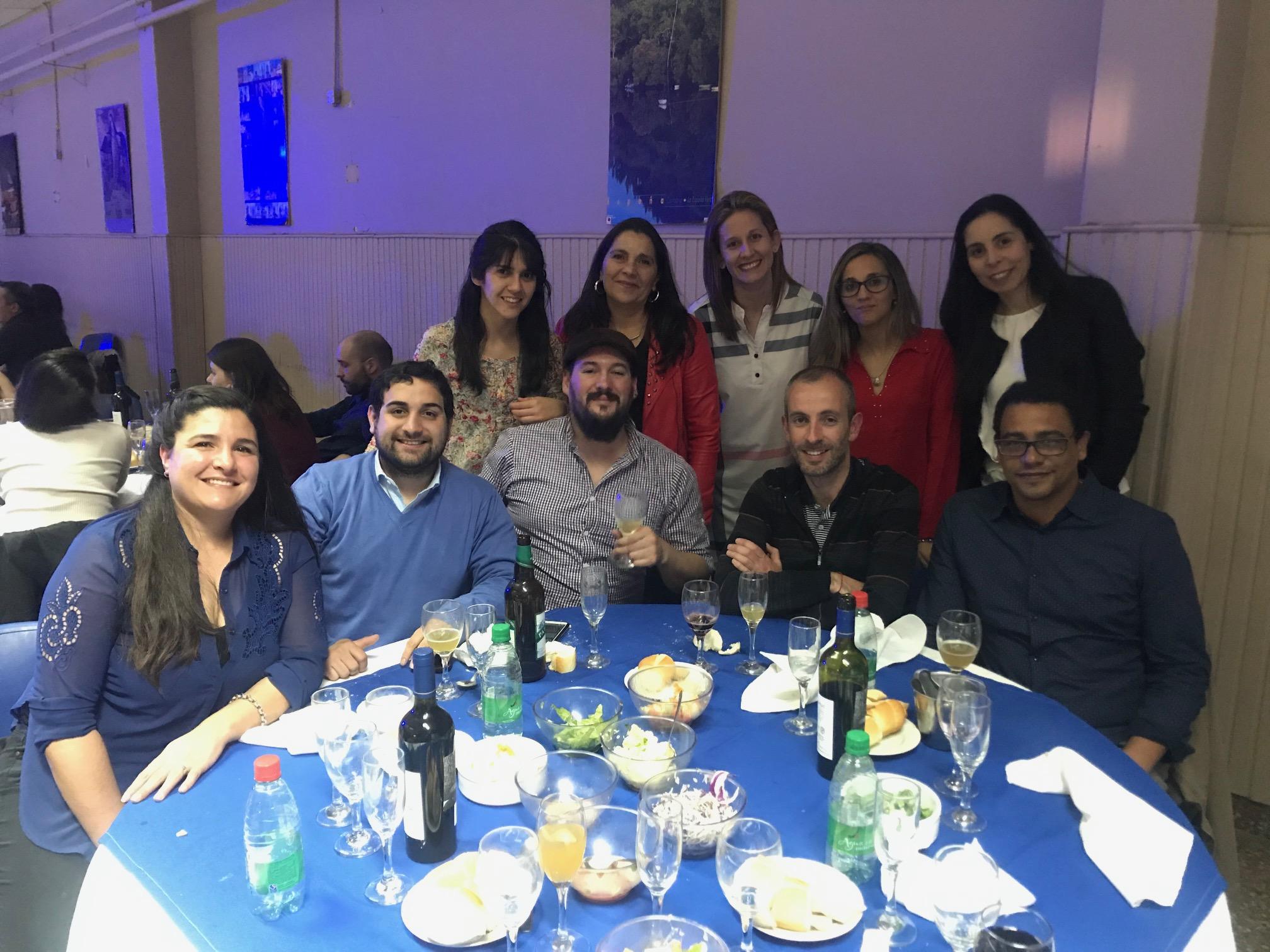 Cena congreso AAQA La Pampa 2019