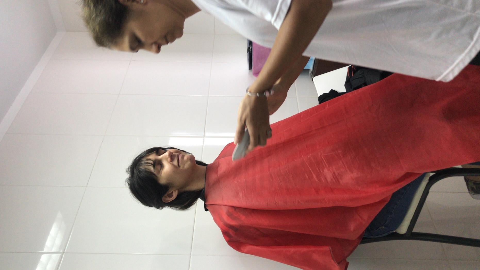 make up Magdi para entrevista televisiva