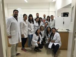 Visita de estudiantes terciario al lab