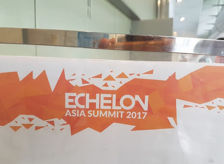 Connecting to the emerging tech at Echelon Asia Summit @ Singapore