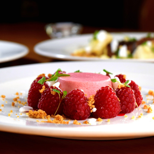 Gefrorenes Dessert Catering