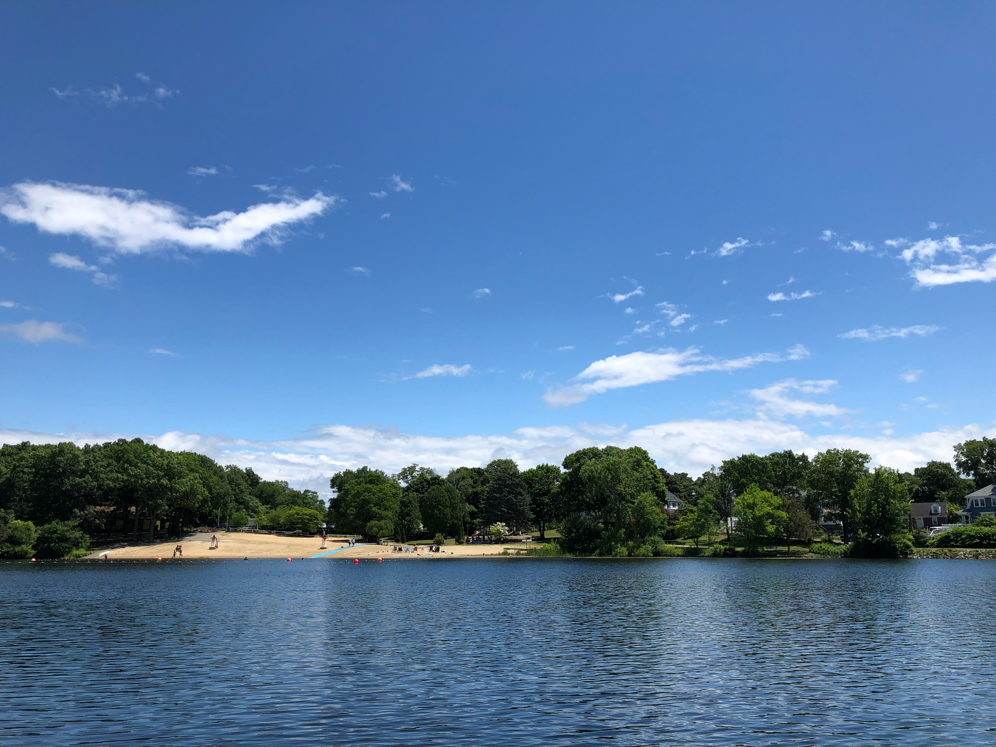 Wright's Pond on a beautiful day!