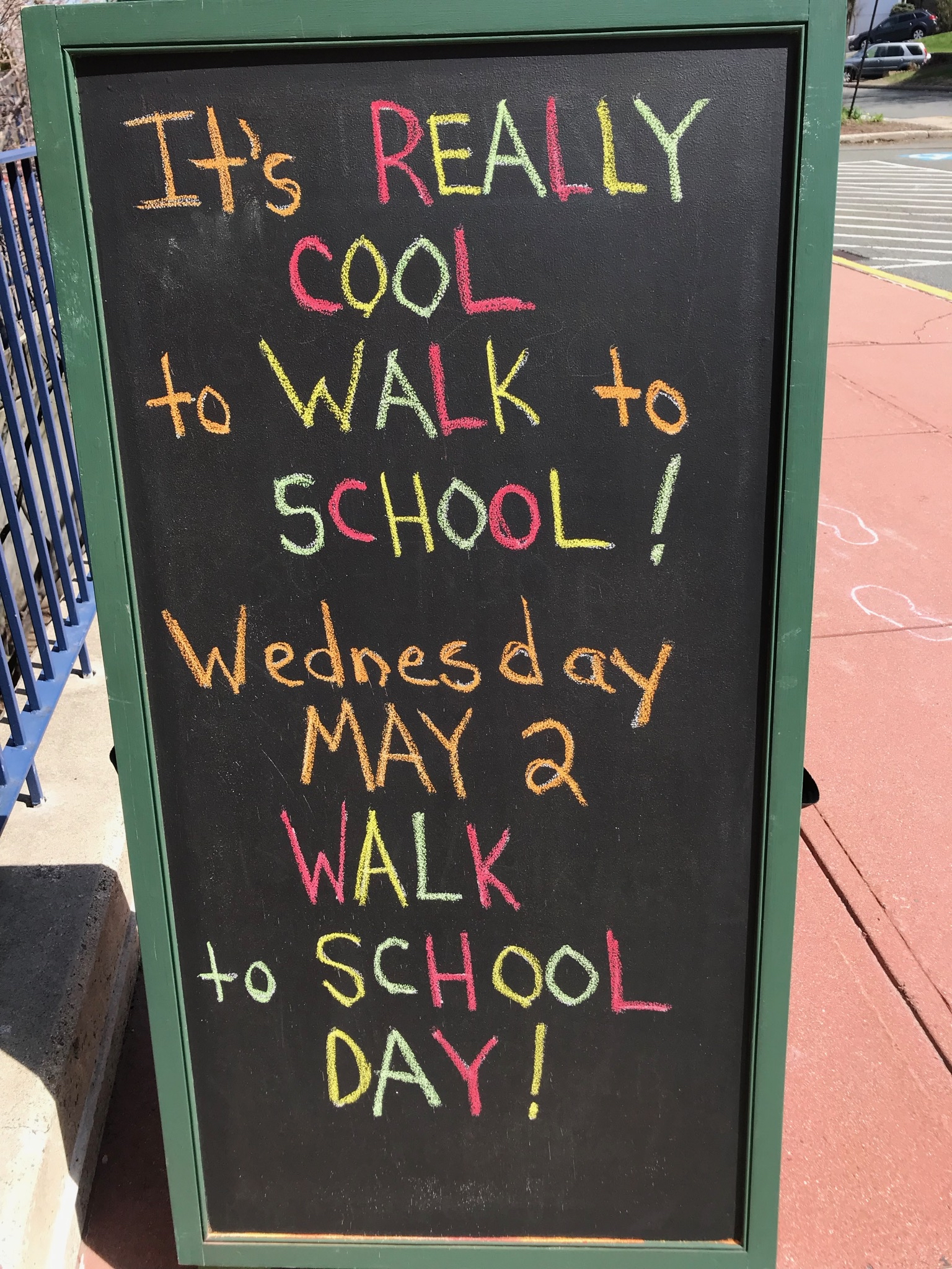 Columbus Elementary Walk to School