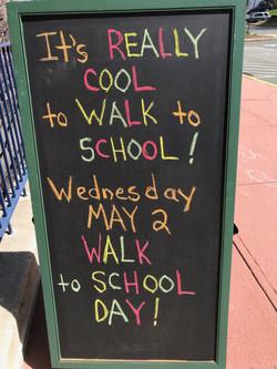 Columbus Elementary Walk to School