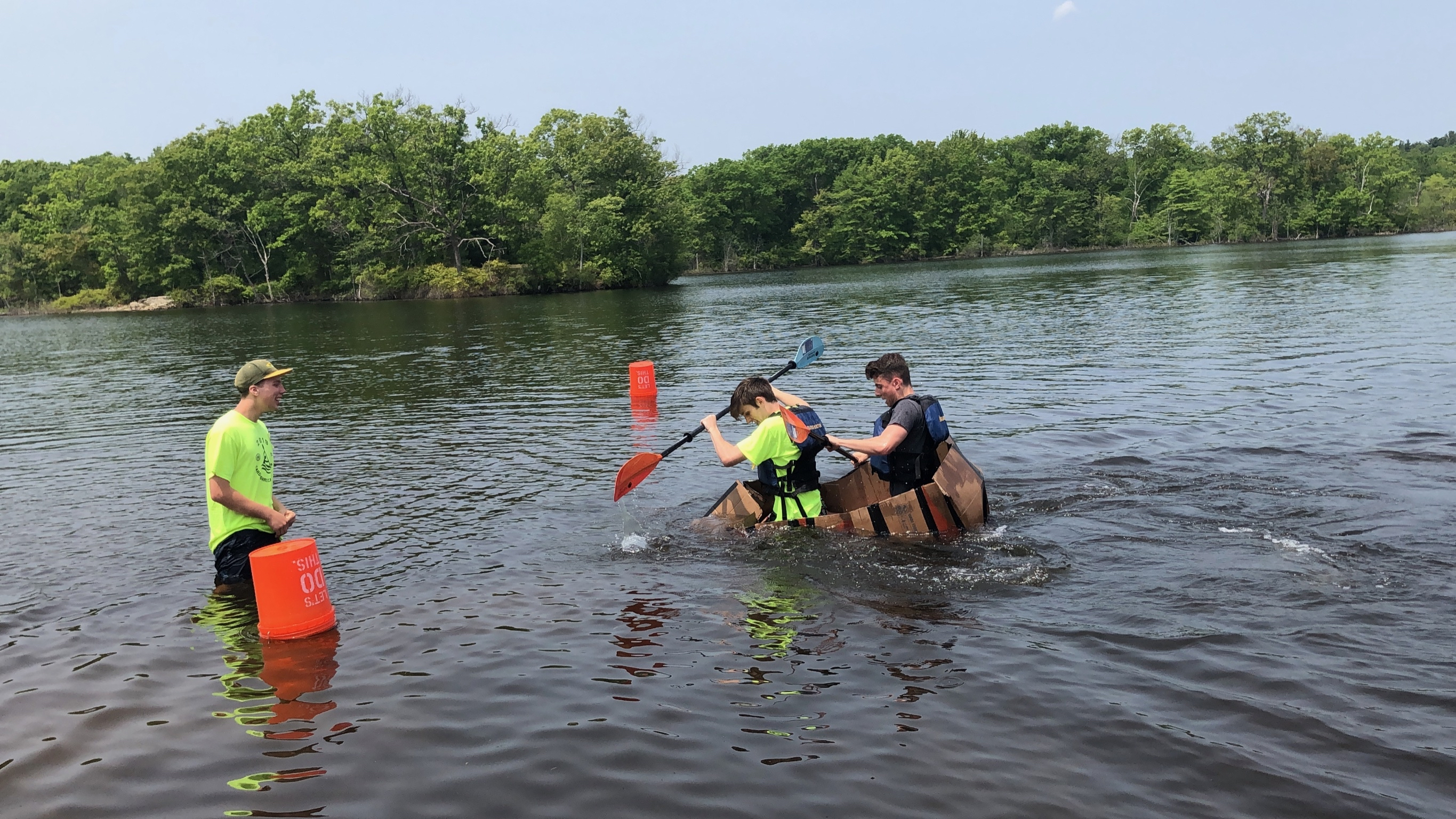 2nd Annual Cardboard Canoe Race
