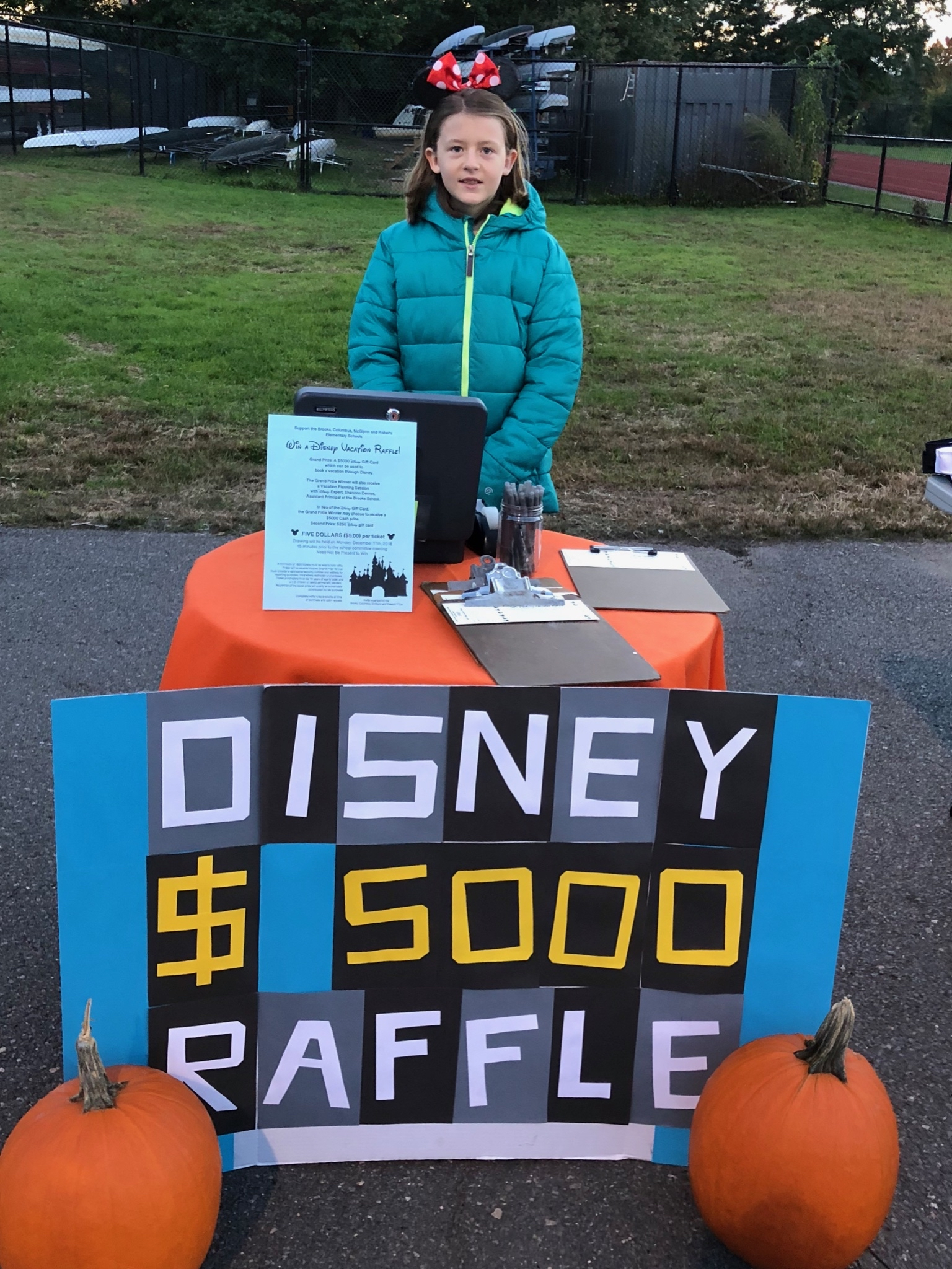 Get your Disney Raffle Tickets!