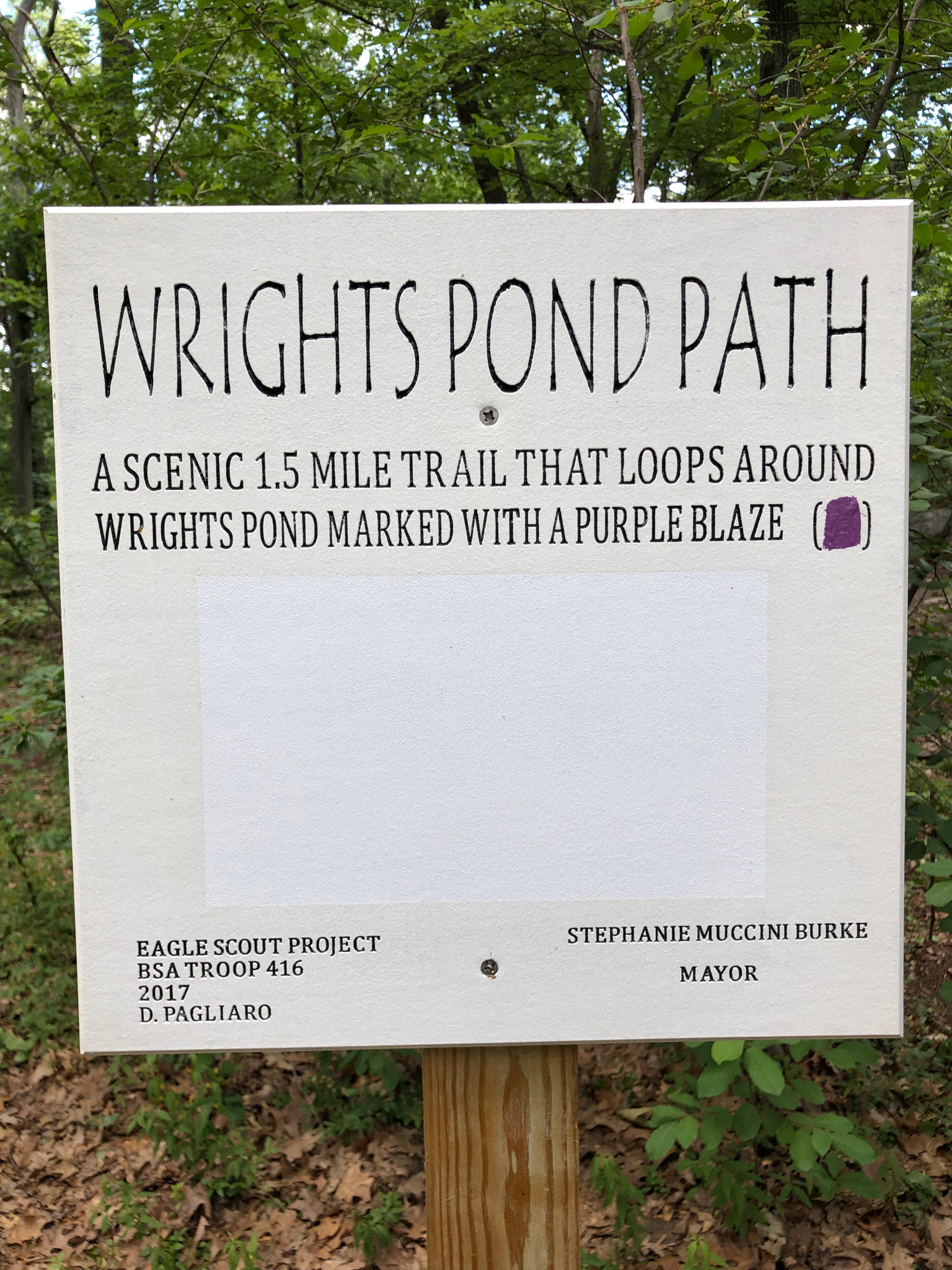 Wright's Pond Path