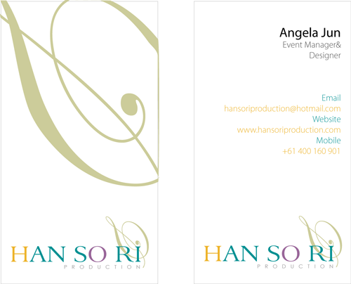 Hansori Production_Name Card