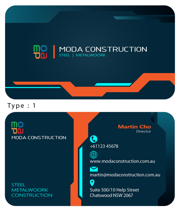 MIDA Construction_Name Card