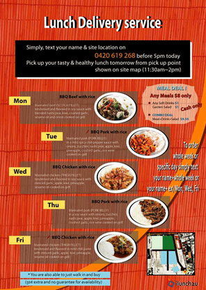 Lunch 2 You_Flyer