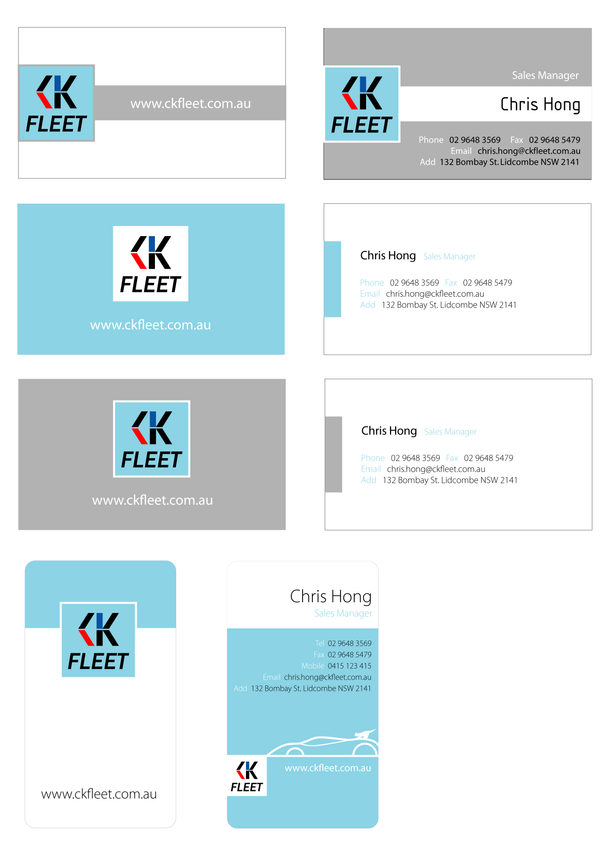 CK Fleet_Name Card
