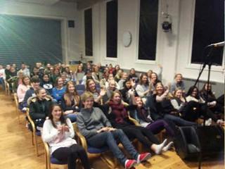 Foredragsturné for norske skoleelever