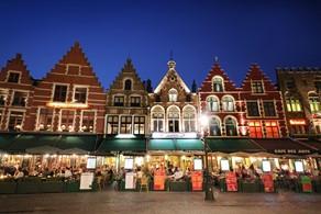 Frites in Brugge, Belgium
