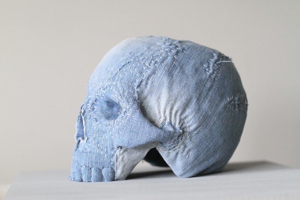 Shashiko Skull