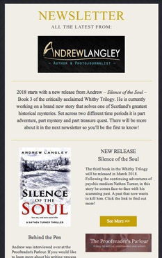 Andrew Langley Newsletter