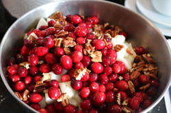 Cranberry bowl