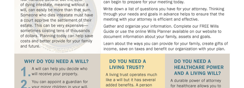 Planned Giving Brief