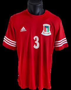 """Equatorial Guinea 2014 Home Matchprepared David """"Kily"""" Álvarez"""