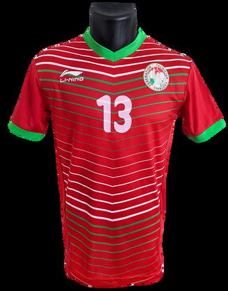 Tajikistan 2015/18 Matchworn