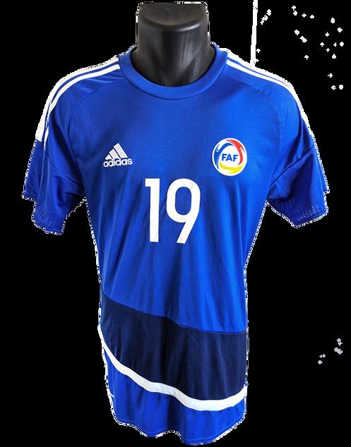 Andorra 2018 Matchworn Sebastián Gómez