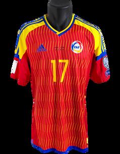 Andorra 2016/17 Matchworn Victor Moreira