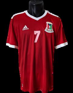 Equatorial Guinea 2018/19 Home Matchprepared Eneme Bokari