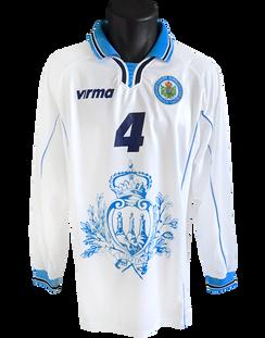 2002/04 Matchworn Nicola Albani