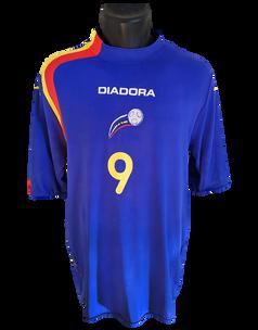 Andorra 2005/06 Matchworn Gabi Riera