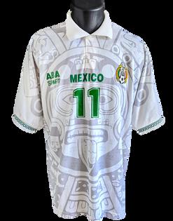 1996/98 Home Matchworn Cuauhtémoc Blanco