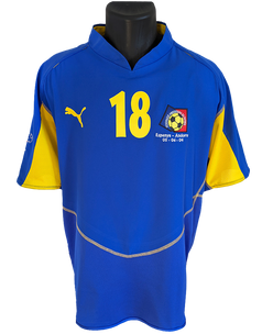 Andorra 10th Anniversary Shirt Matchworn Gabi Riera