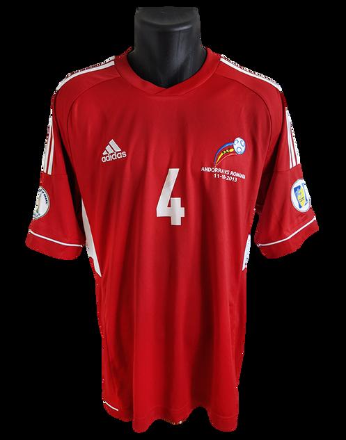 Andorra 2012/13 Matchworn Óscar Sonejee
