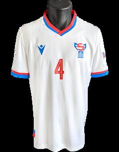 Faroe Islands 2020/22 Matchprepared Bartal Wardum