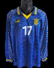 Ukraine 1996/97 Home Matchworn