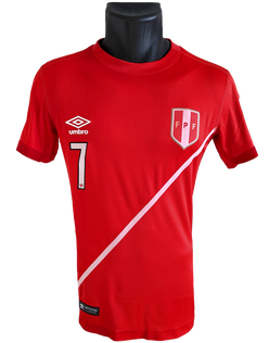 2015/16 Away Matchworn Paolo Hurtado